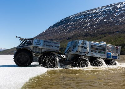 Sherp expedition vehicle