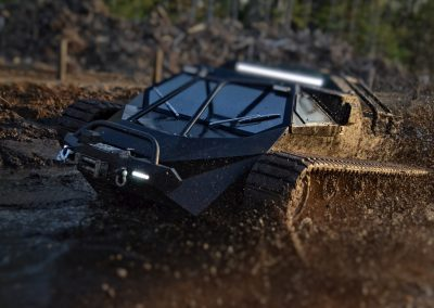 Ripsaw super fast tracked vehicle